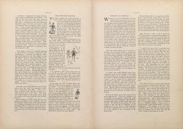 Society in Novels