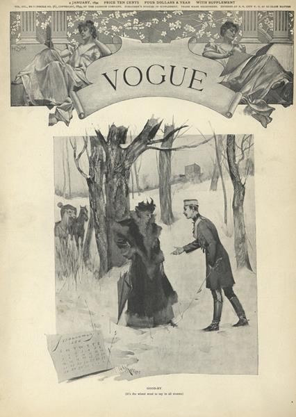Issue: - January 4 1894 | Vogue