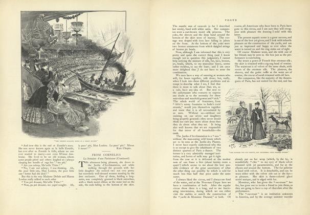 From Cornelius: La Semaine d'une Parisienne (Continued)