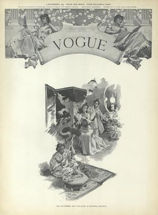 Cover for the November 1 1894 issue