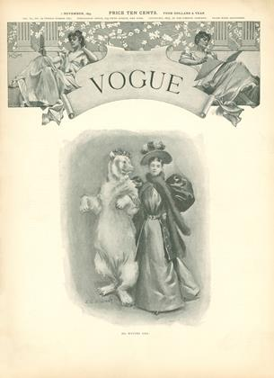 Cover for the November 7 1895 issue