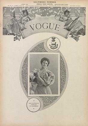 Cover for the April 9 1896 issue