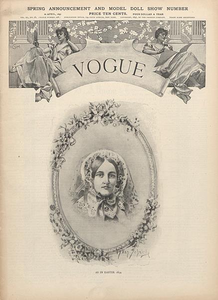 Issue: - April 22 1897   Vogue