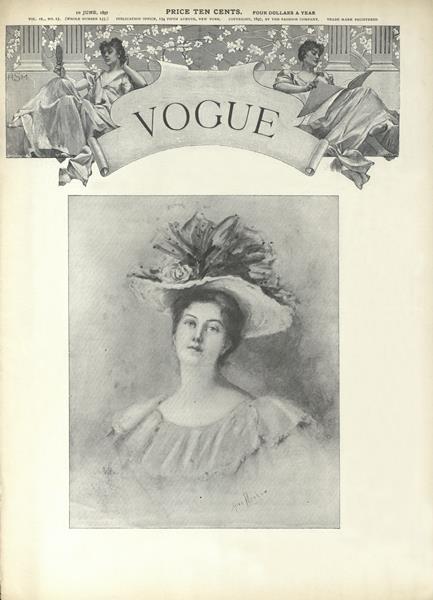 Issue: - June 10 1897 | Vogue