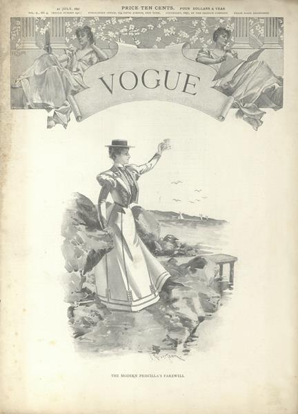 Issue: - July 22 1897   Vogue