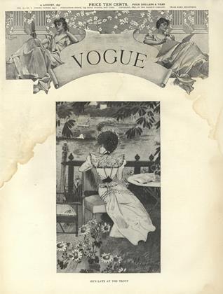 AUGUST 12, 1897 | Vogue