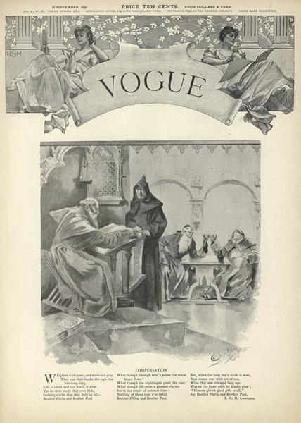 Issue: - November 18 1897 | Vogue
