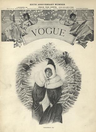 DECEMBER 9, 1897 | Vogue