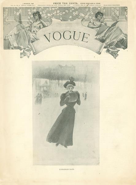 Issue: - March 3 1898   Vogue