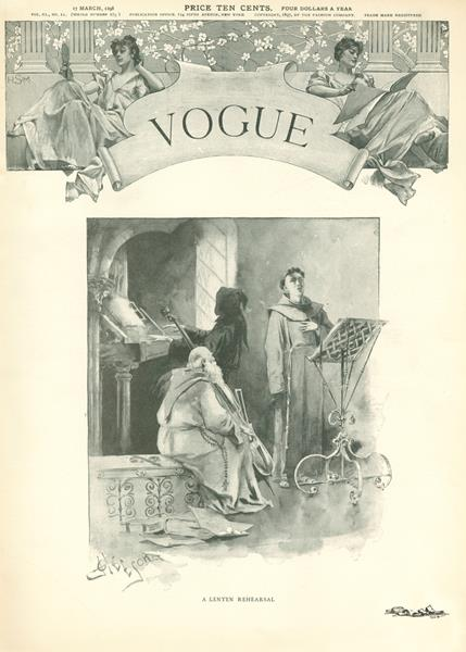 Issue: - March 17 1898 | Vogue