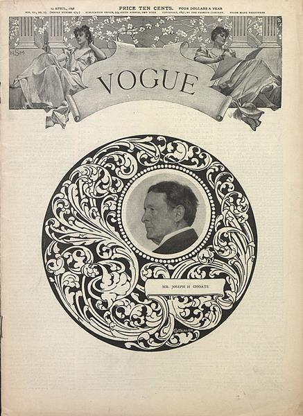 Issue: - April 14 1898 | Vogue