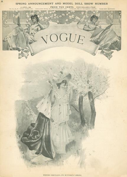 Issue: - April 21 1898 | Vogue