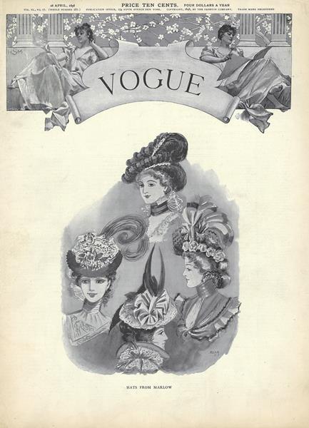 Issue: - April 28 1898   Vogue