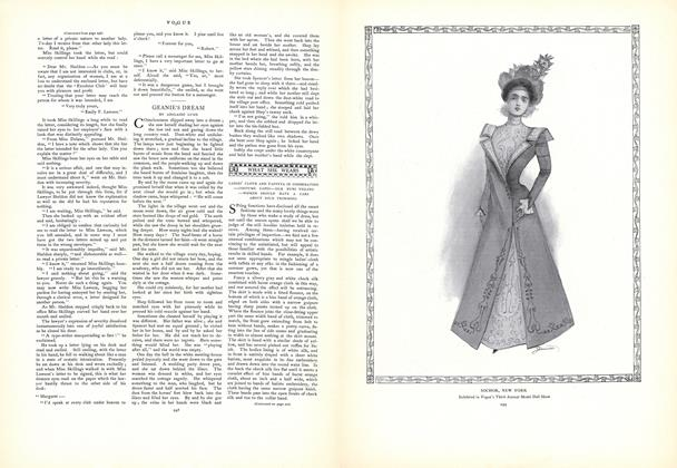What She Wears: Ladies' Cloth and Taffeta in Combination...