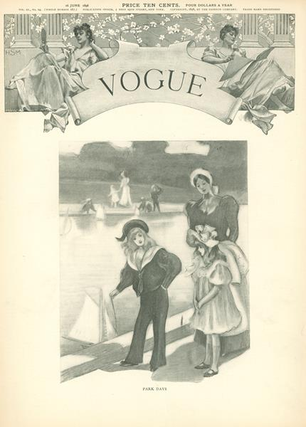 Issue: - June 16 1898 | Vogue