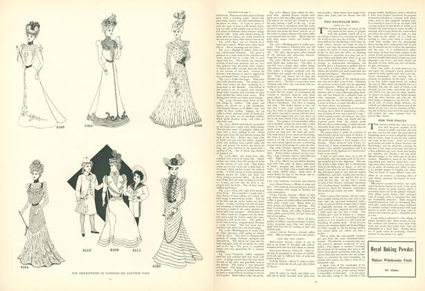 The Bachelor Girl: Paper No. III