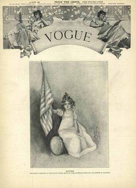 Issue: - June 30 1898   Vogue