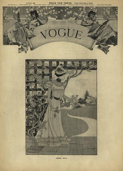 Issue: - July 28 1898   Vogue