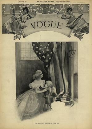 Cover for the August 4 1898 issue