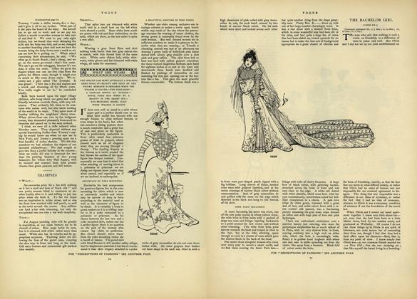 The Bachelor Girl: Paper No. 5