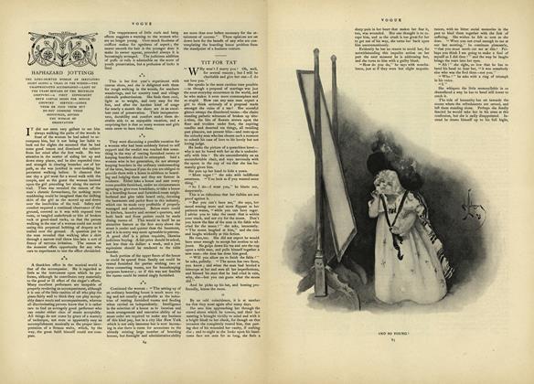 Haphazard Jottings: The Long-Skirted Woman an Irritating Sight...