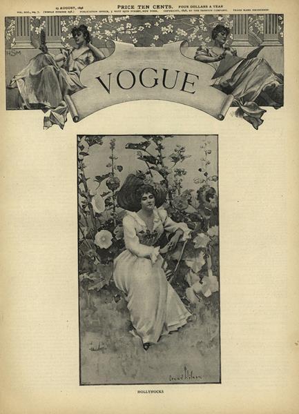 Issue: - August 25 1898   Vogue