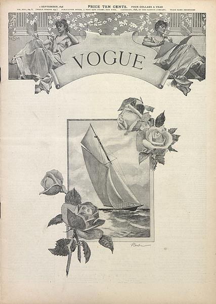 Issue: - September 1 1898 | Vogue