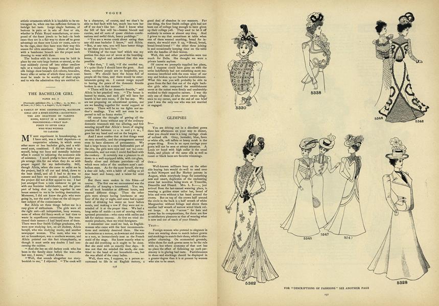 The Bachelor Girl: Paper No. 7