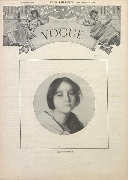 Issue: - October 13 1898 | Vogue