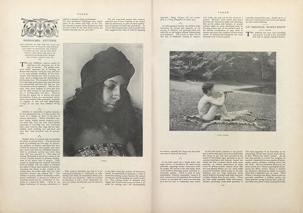 Article Preview: Haphazard Jottings: Not Ashamed of Her Now Big Feet..., October 13 1970 | Vogue