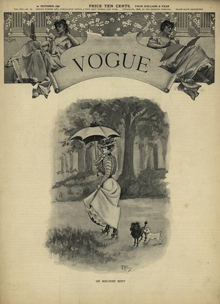 Issue: - October 20 1898 | Vogue