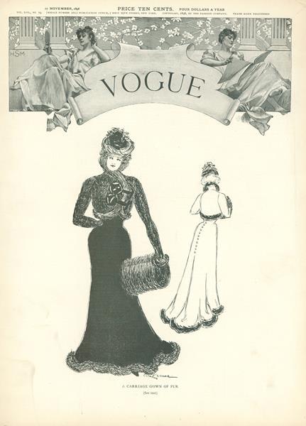 Issue: - November 17 1898   Vogue