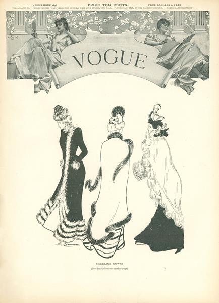 Issue: - December 1 1898 | Vogue