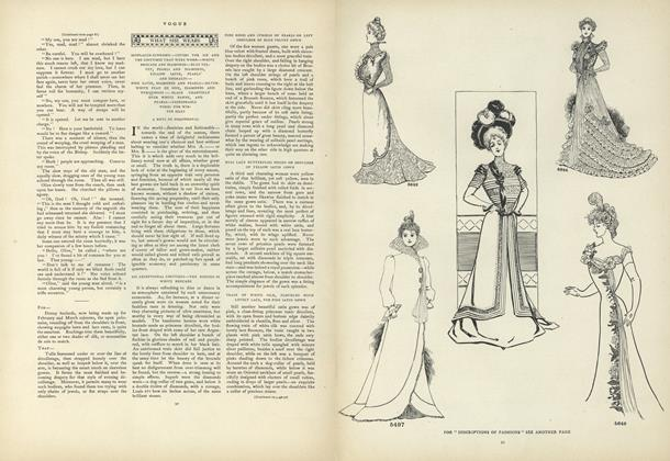 Article Preview: What She Wears: Misplaced Economy..., February 9 1970 | Vogue