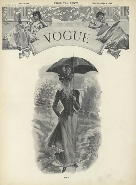 Issue: - April 6 1899 | Vogue