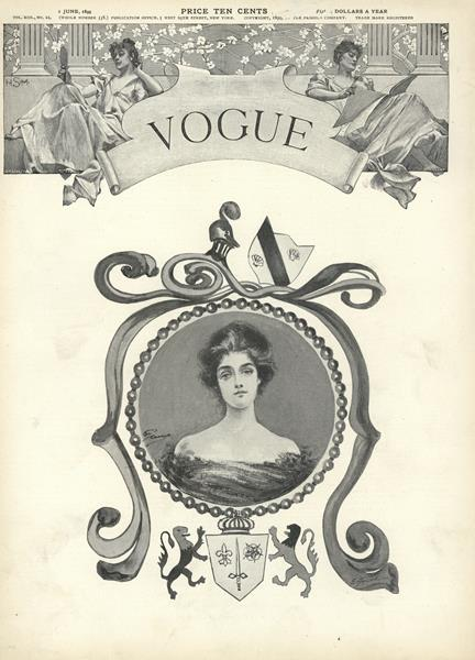 Issue: - June 1 1899 | Vogue