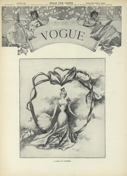 Issue: - June 8 1899 | Vogue
