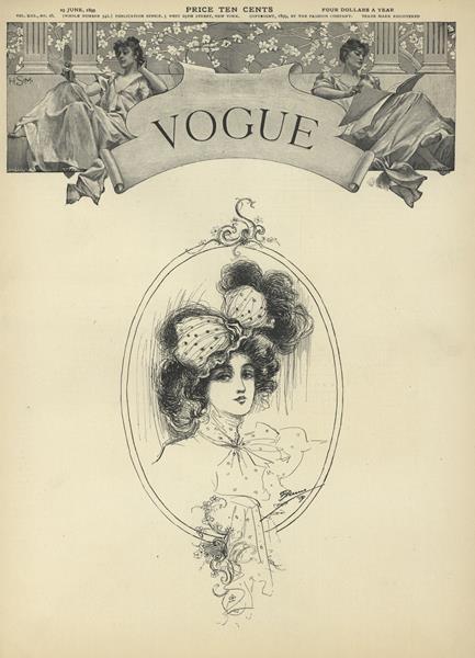Issue: - June 29 1899   Vogue