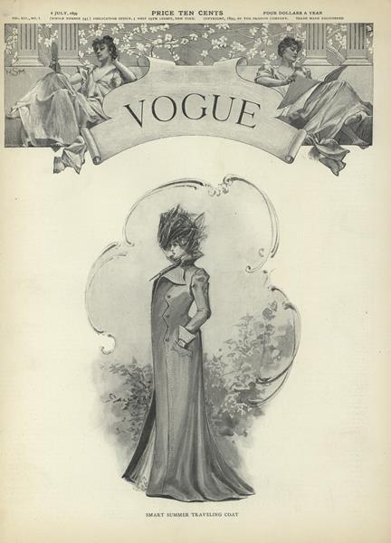 Issue: - July 6 1899   Vogue