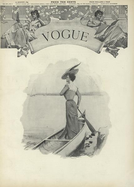 Issue: - August 10 1899 | Vogue