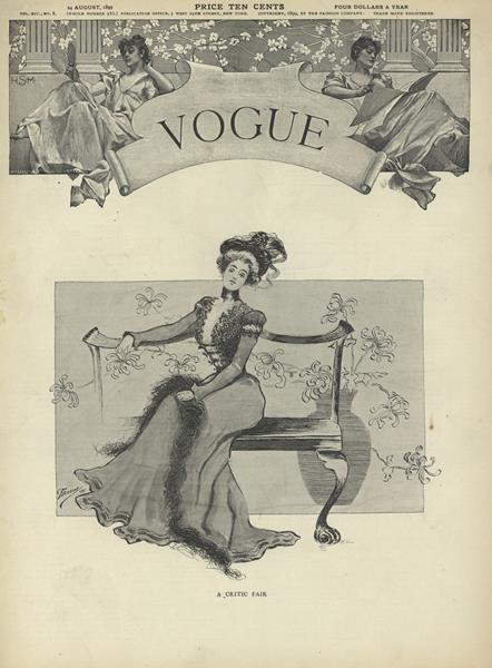 Issue: - August 24 1899 | Vogue