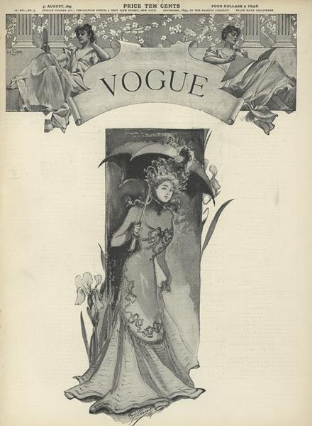 Issue: - August 31 1899 | Vogue