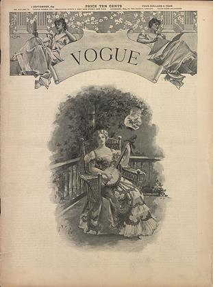 Cover for the September 7 1899 issue