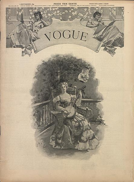 Issue: - September 7 1899 | Vogue