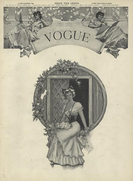 Issue: - September 14 1899 | Vogue