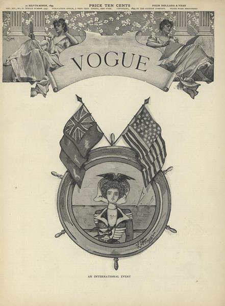 Issue: - September 21 1899 | Vogue