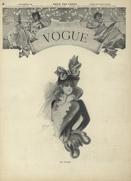 Issue: - November 2 1899 | Vogue