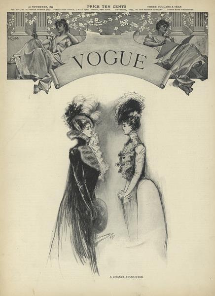Issue: - November 30 1899 | Vogue