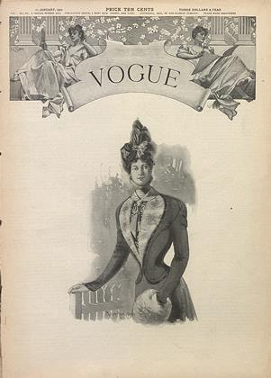 Cover for the January 11 1900 issue