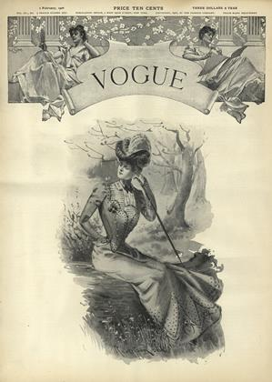 Cover for the February 1 1900 issue